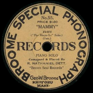 Broome Special Phonograph Records