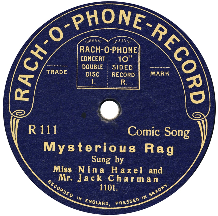 RACH-O-PHONE Record