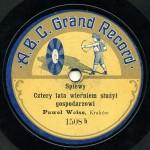 A.B.C. GRAND RECORD