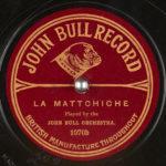 JOHN BULL RECORD