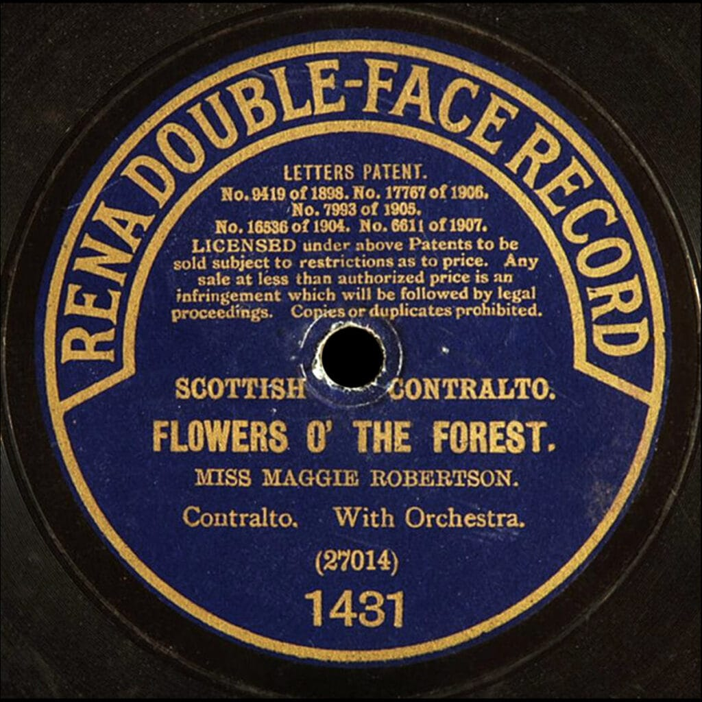RENA DOUBLE-FACE RECORD
