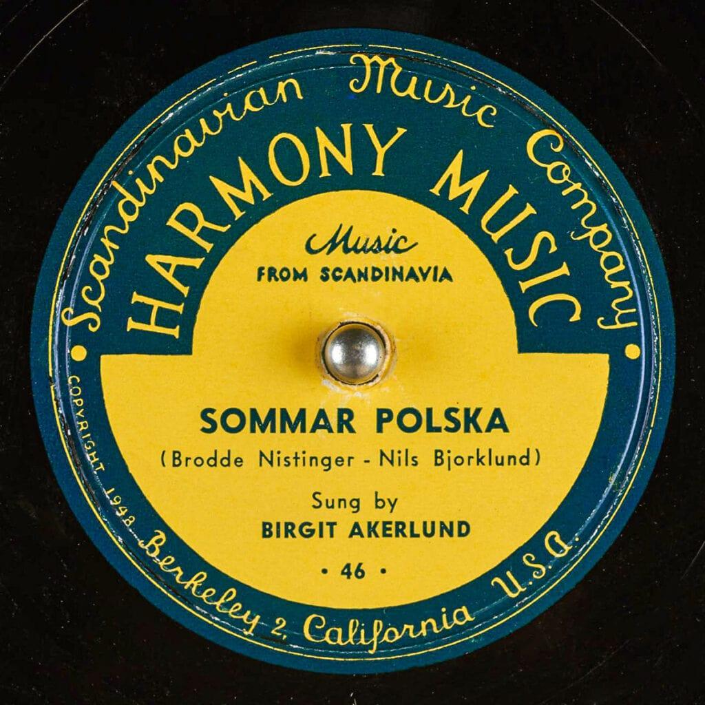 HARMONY MUSIC